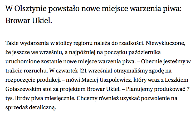 Gazeta text